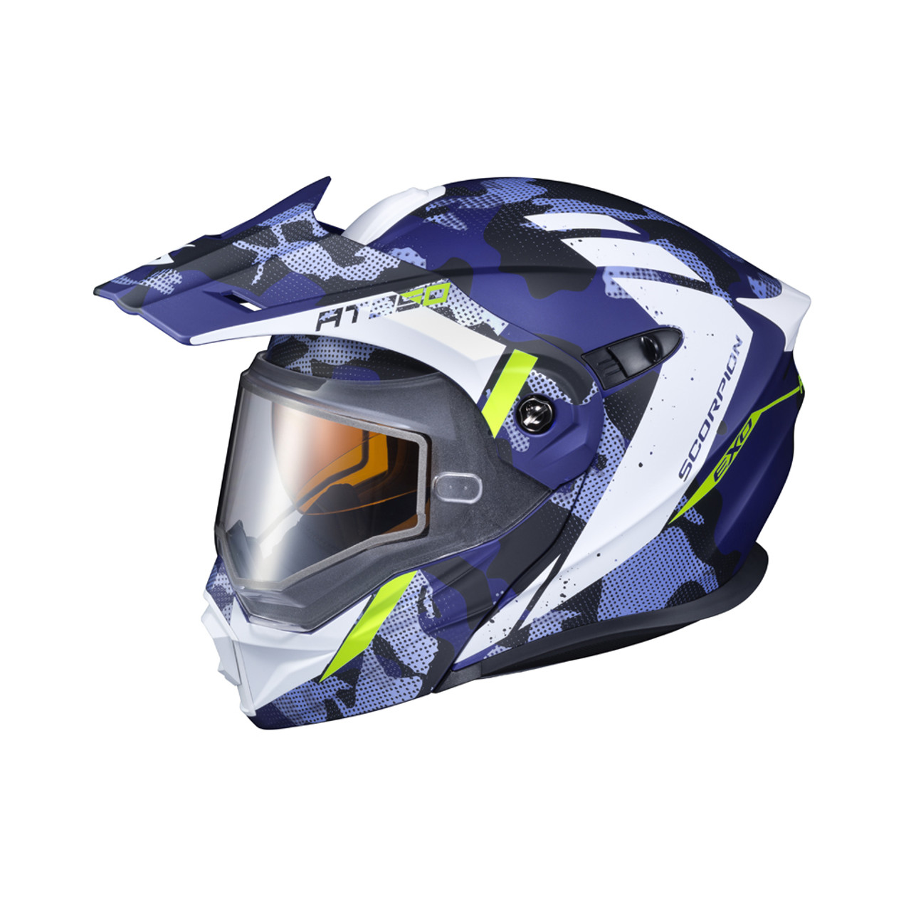 Scorpion Electric Shield Exo-AT950 Snow Motorcycle Helmet Accessories Clear//One Size