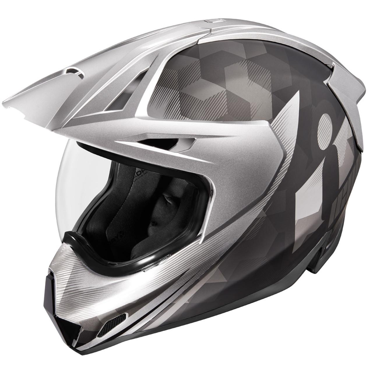 Face Shield for Icon Variant Helmets Pick Color Icon Precision Optics Repl