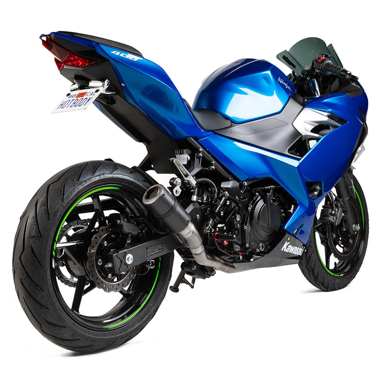 Hotbodies Racing Kawasaki Ninja 400 2018 2020 Mgp Stinger Exhaust