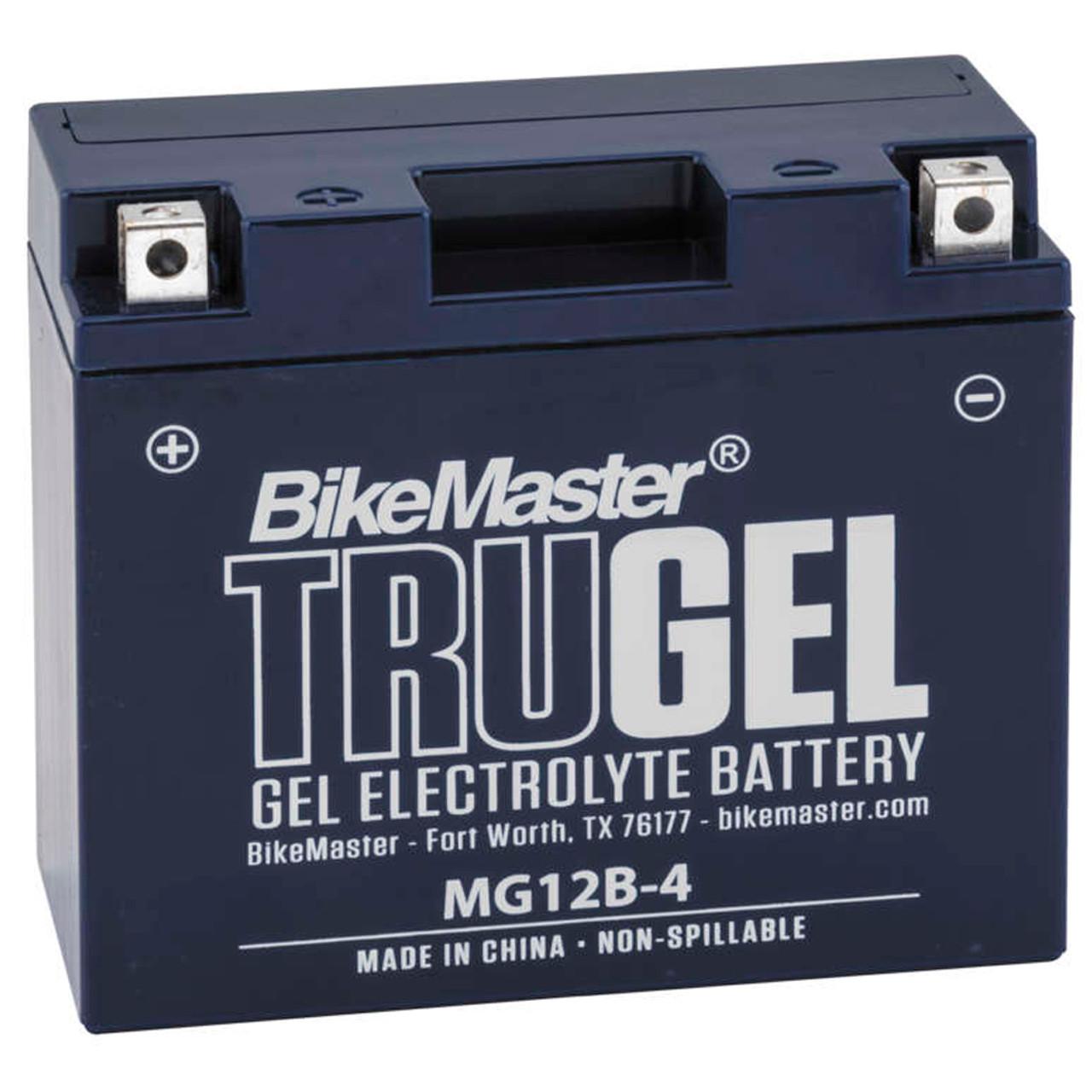 BikeMaster Kawasaki ZX10R 04-10 TruGel Battery