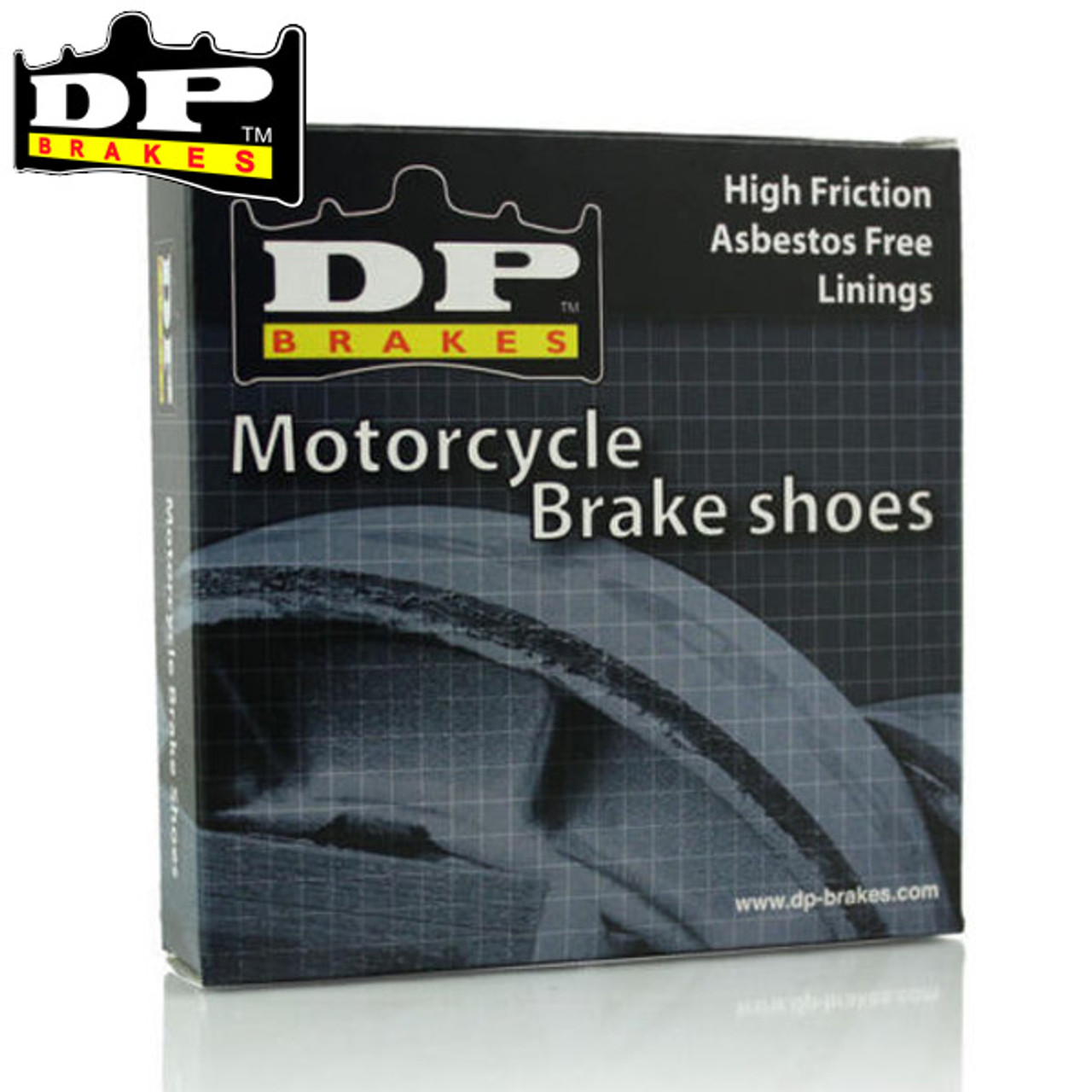 DP Aprilia RX50/Racing 04GF Friction Rated Rear Brake Shoes
