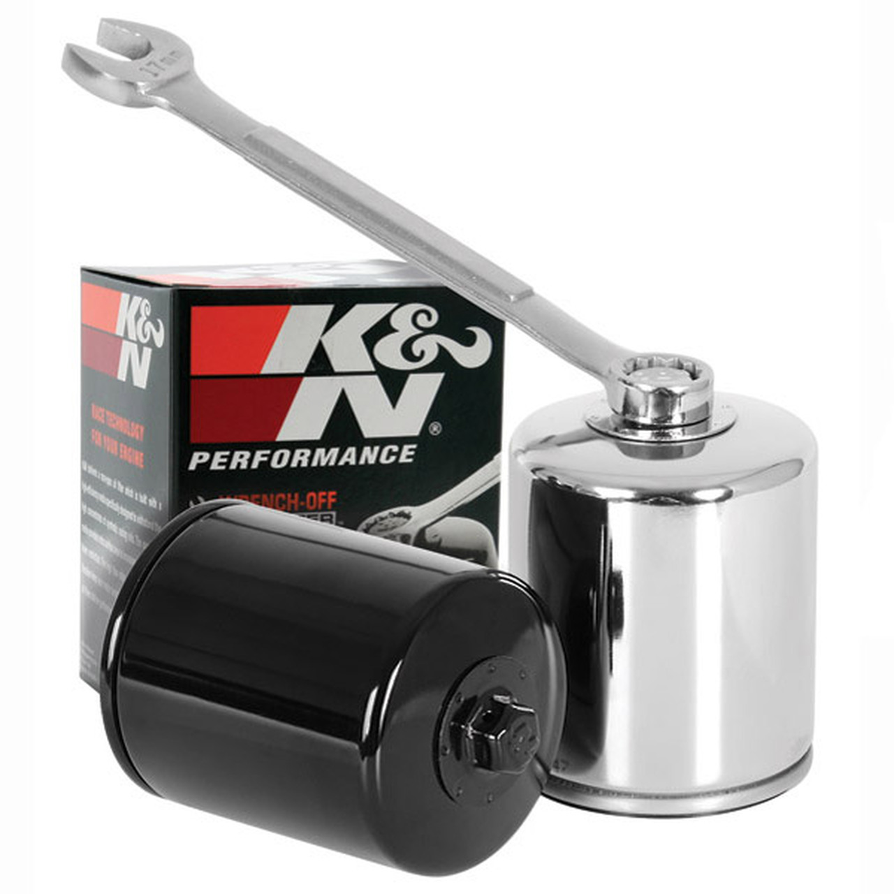 KN303 New K/&N Oil Filter Yamaha Road Star Warrior XV1700  2002/>2009