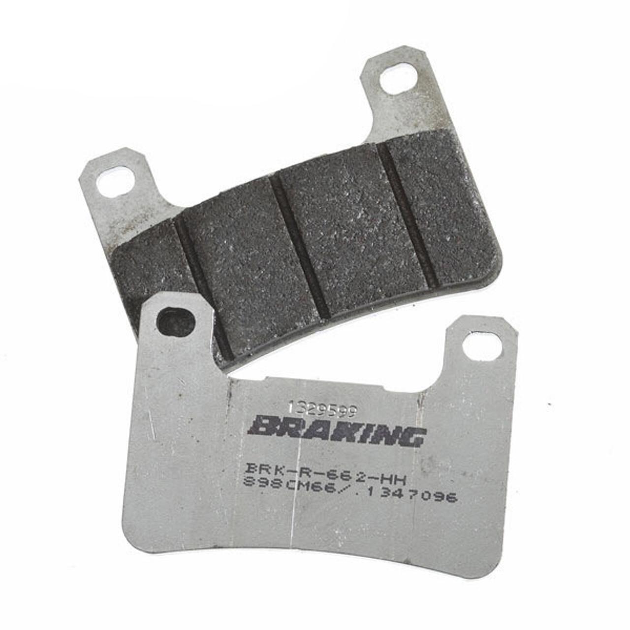 Honda Brake Pads >> Braking Honda Cbr600rr 07 19 Cm66 Racing Front Brake Pads