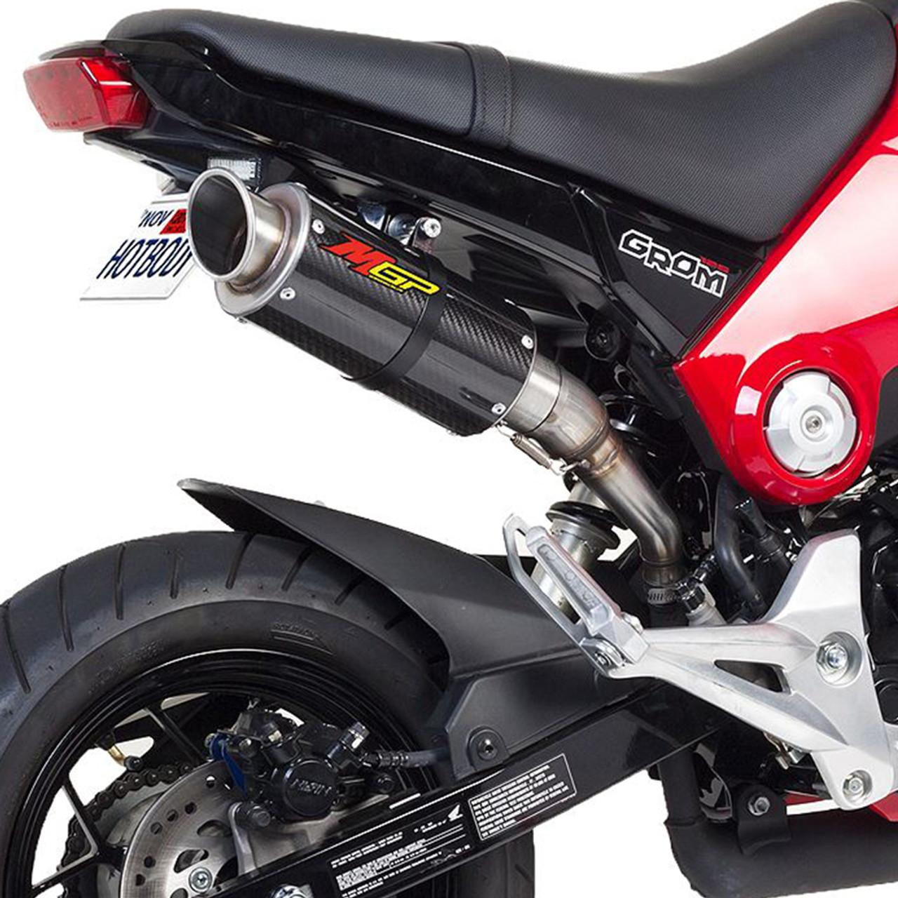 Hotbodies Racing Honda Grom 13-15 MGP Growler Slip-On Exhaust