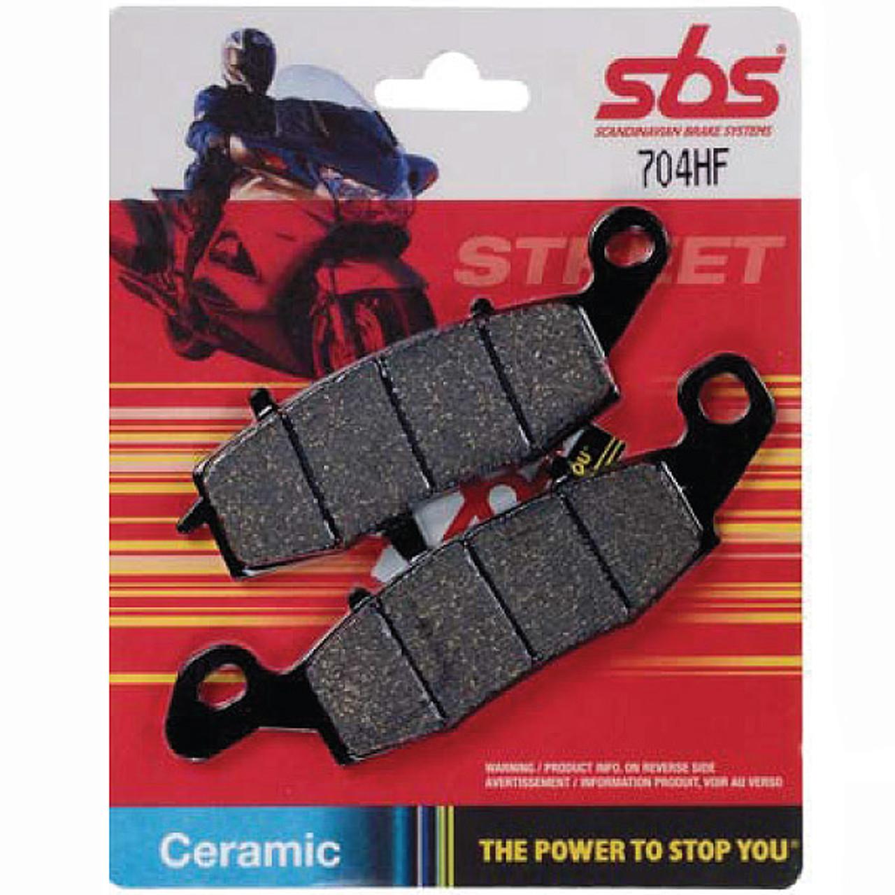 SBS Yamaha RD400 76-78 Street Ceramic Organic Rear Brake Pads