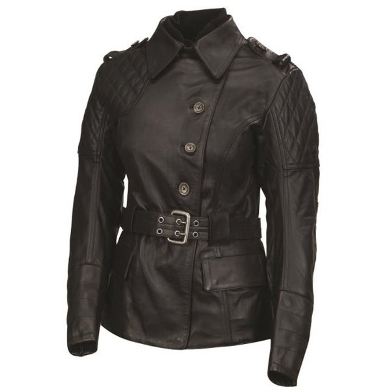 d85a841b Roland Sands Womens Oxford Leather Jacket - Sportbike Track Gear