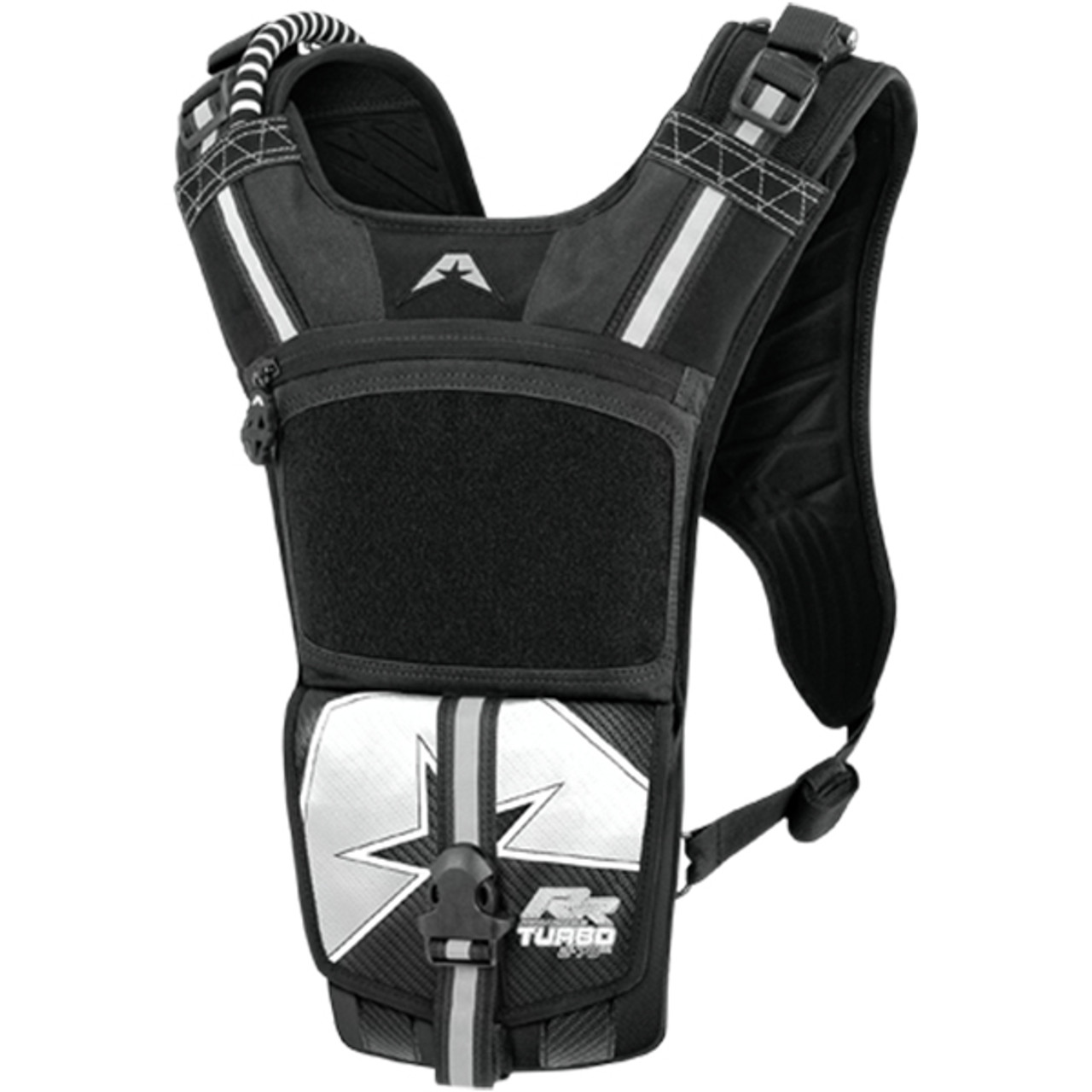 American Kargo Black Turbo 3 Liter Textile Motorcycle Offroad Hydration Backpack