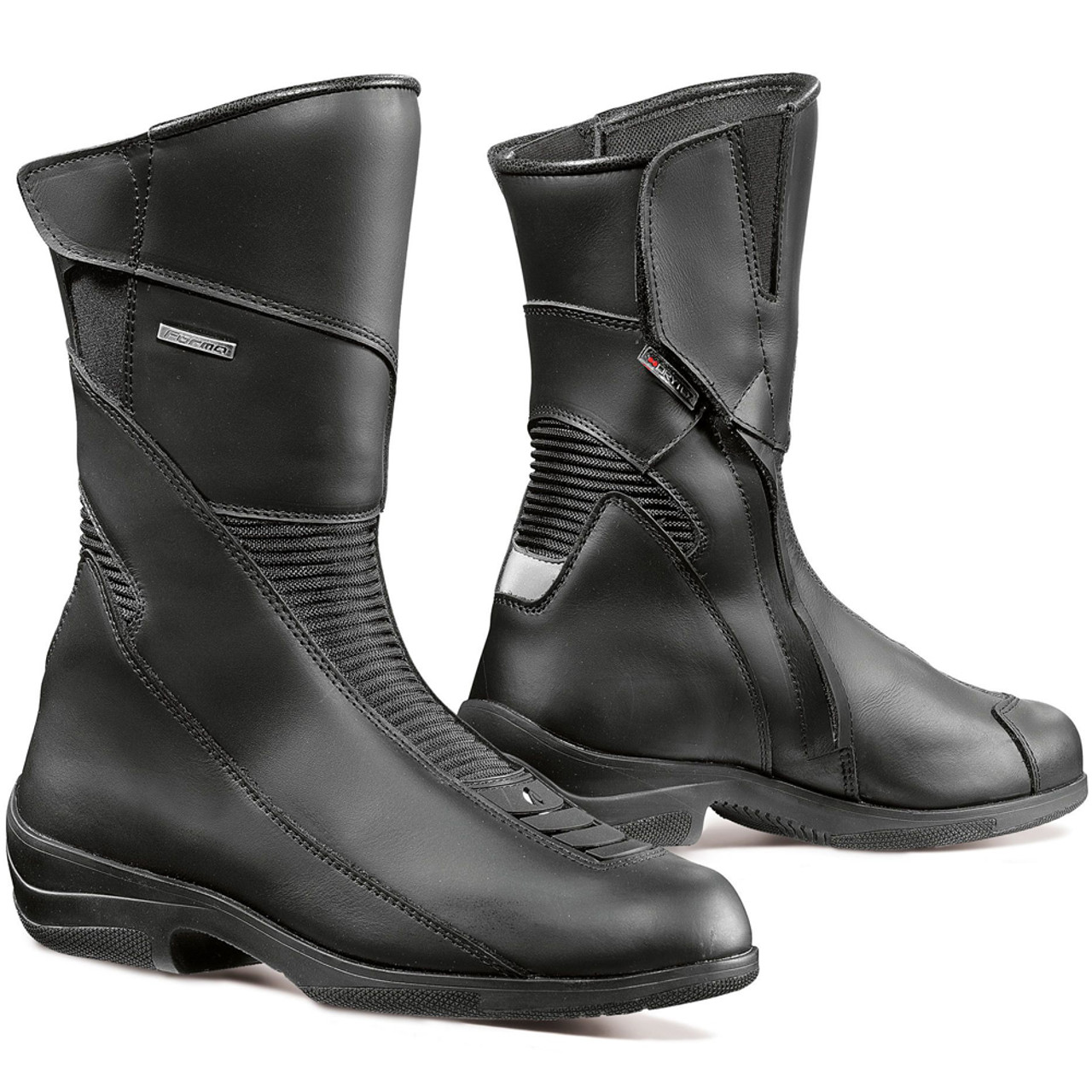 Forma Women's Simo Touring Motorcycle Boots Black