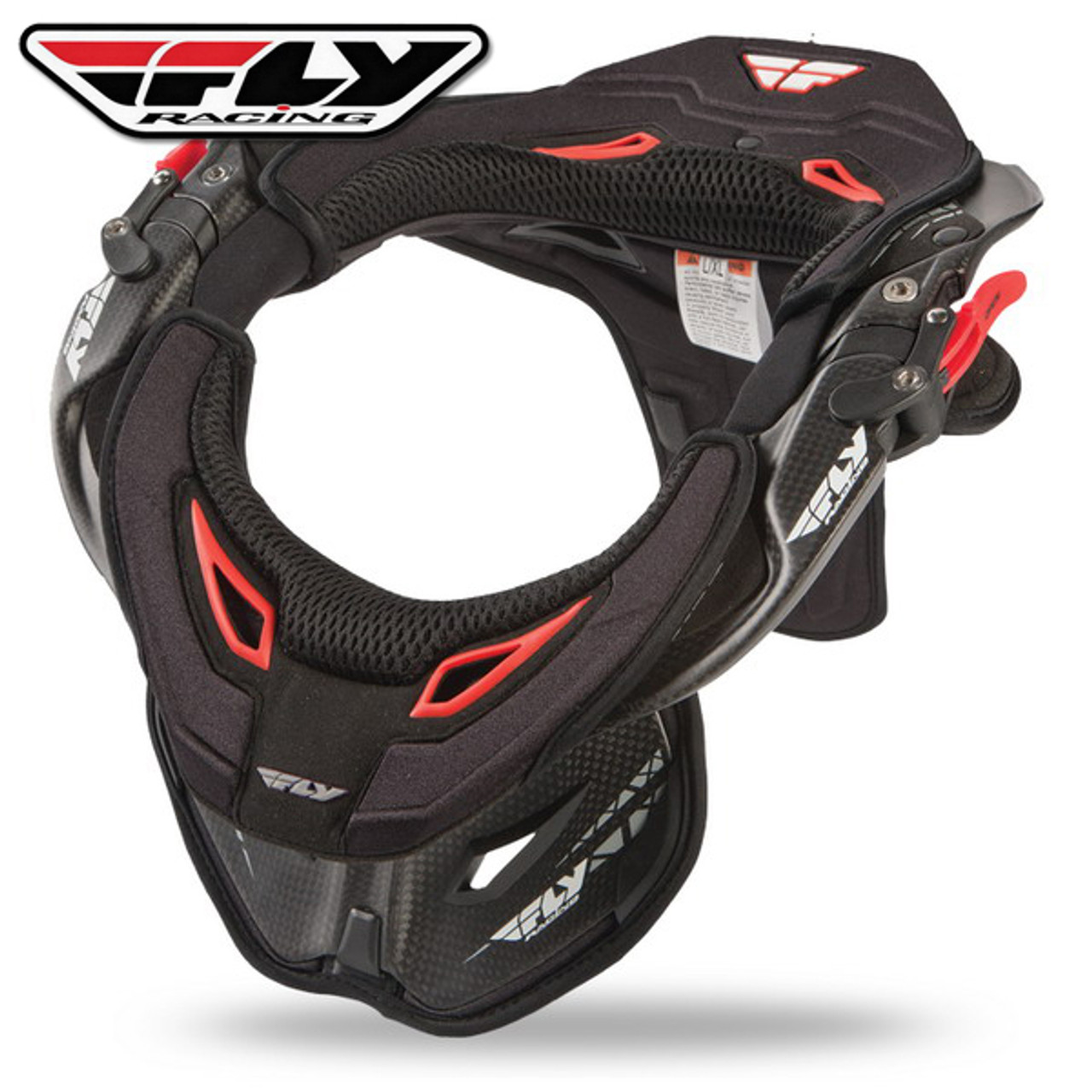 Carbon//Black, Small//Medium Leatt GPX 6.5 Neck Brace 1015100100