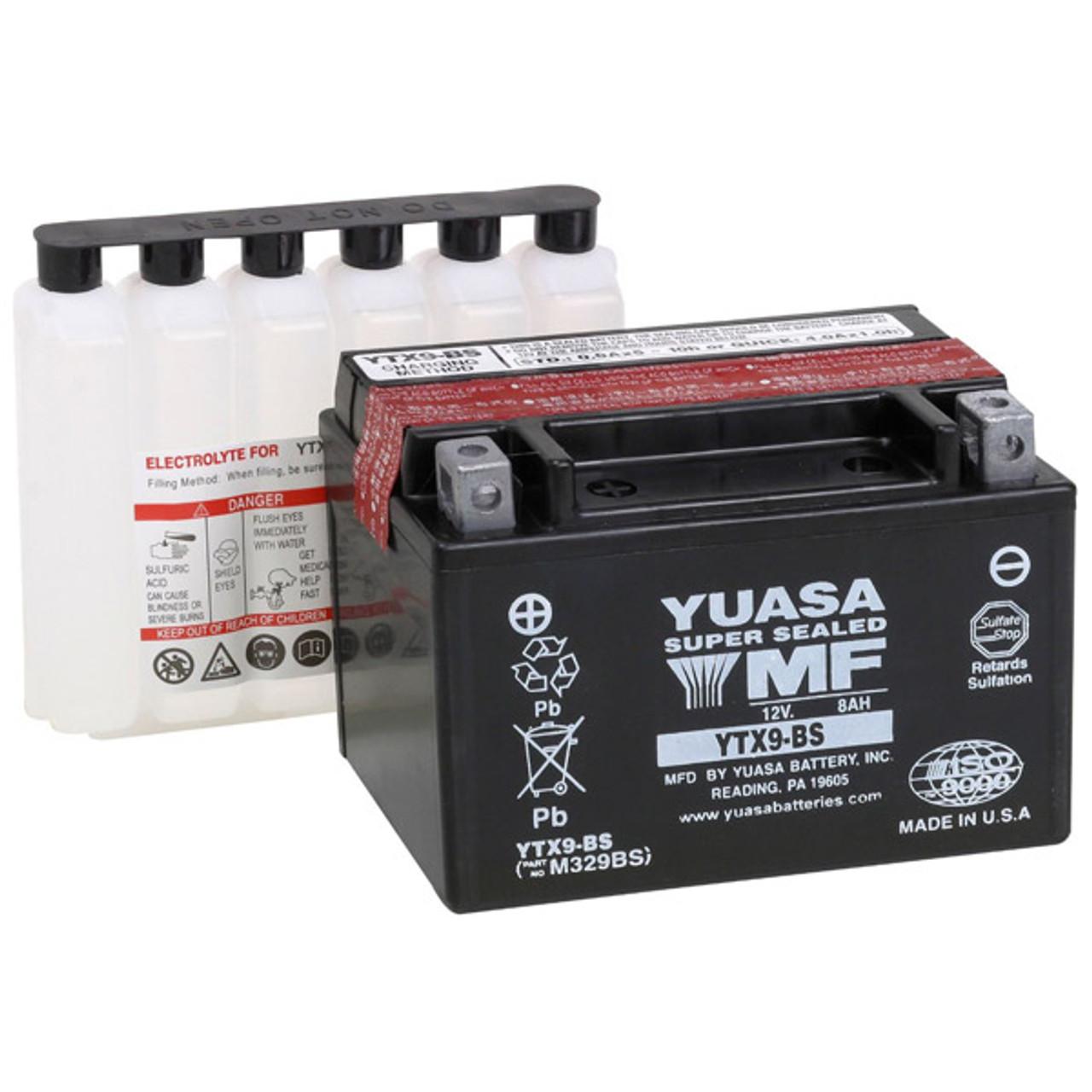 Yuasa Kawasaki Ninja Zx6r 2009 2020 Maintenance Free Battery