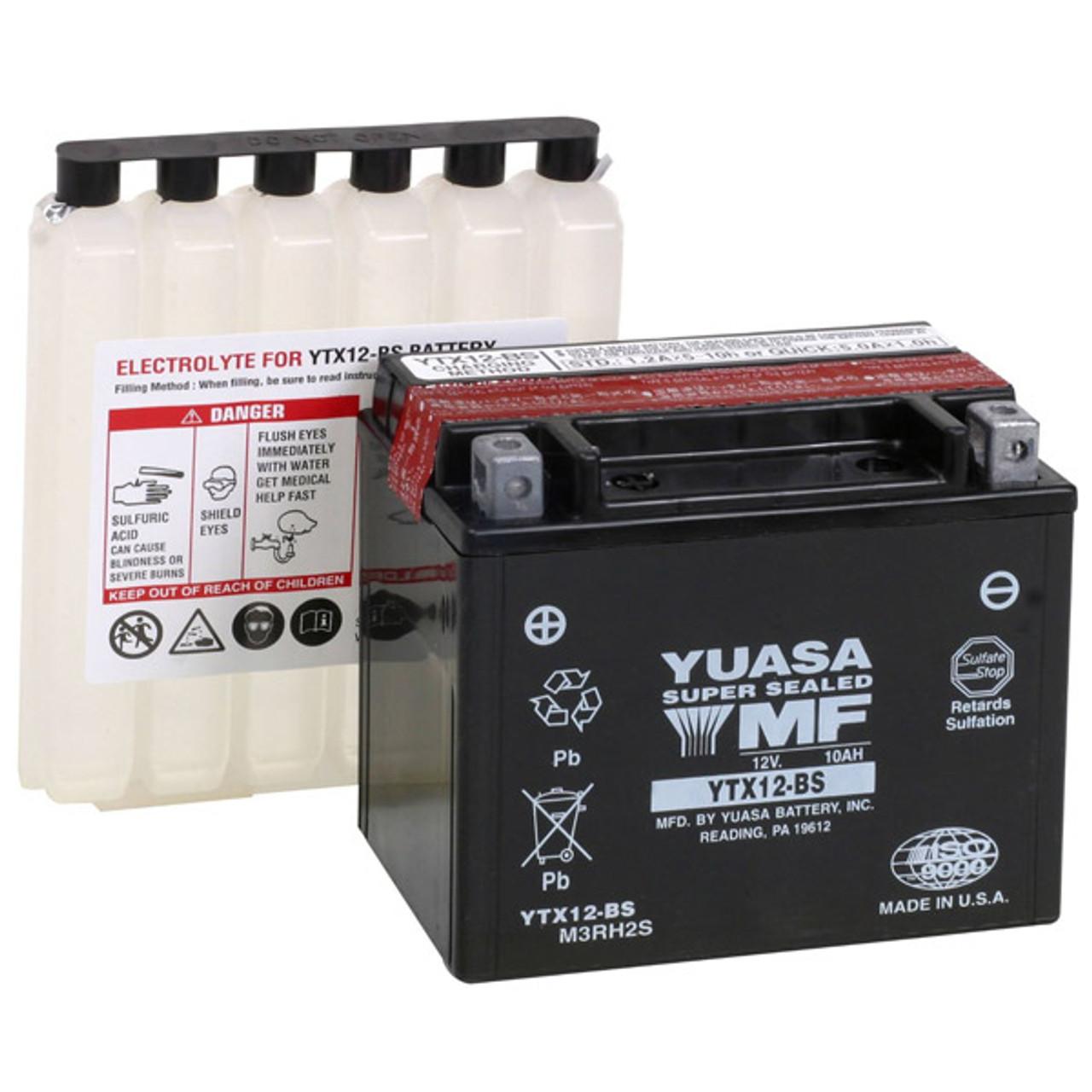 Yuasa Triumph Tiger 1050 07-11 Std/ABS Maintenance Free Battery