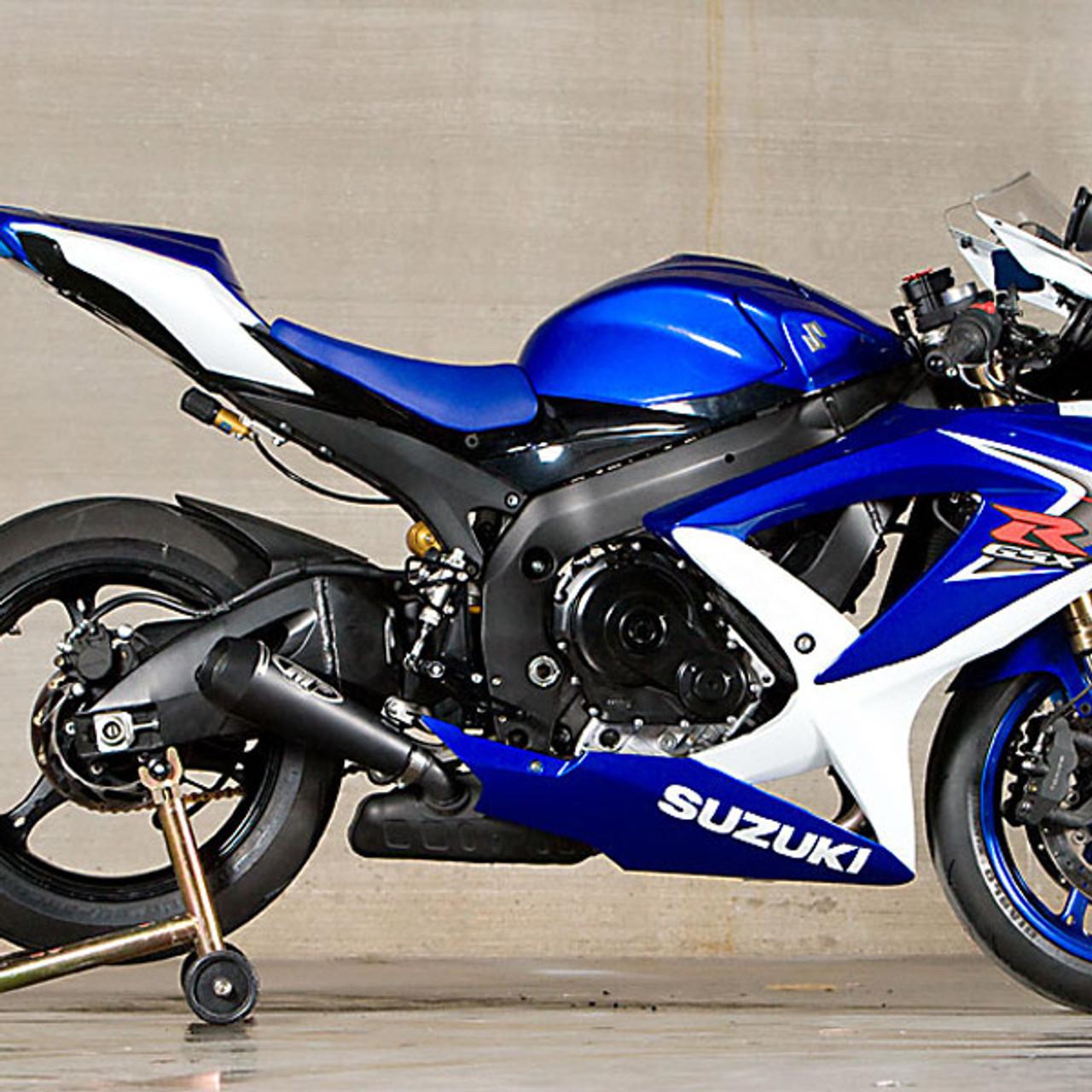 Suzuki Gsxr 600 >> M4 Suzuki Gsx R600 750 08 10 Gp Mount Slip On Exhaust