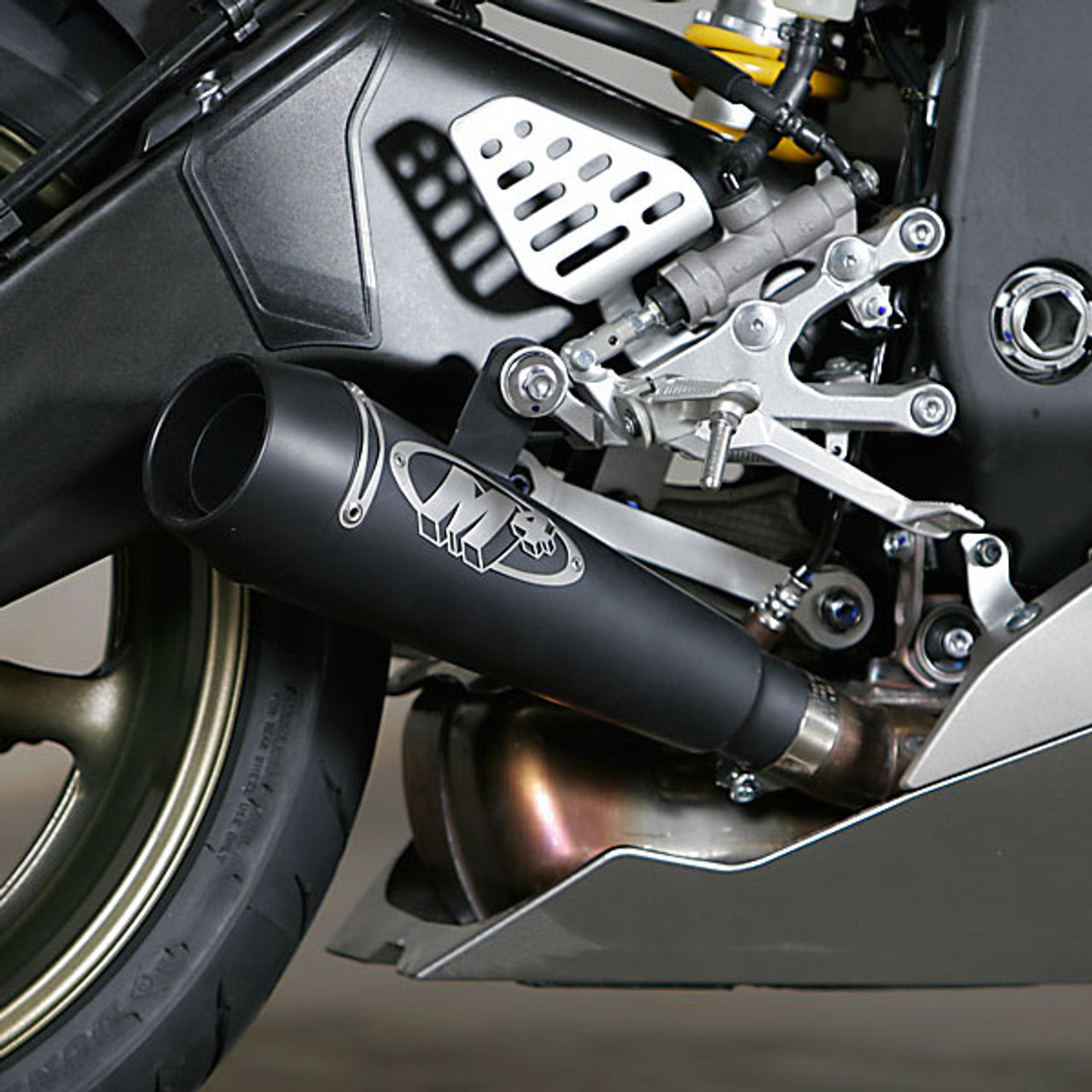 M4 Yamaha YZF-R6 06-19 GP Slip On Exhaust