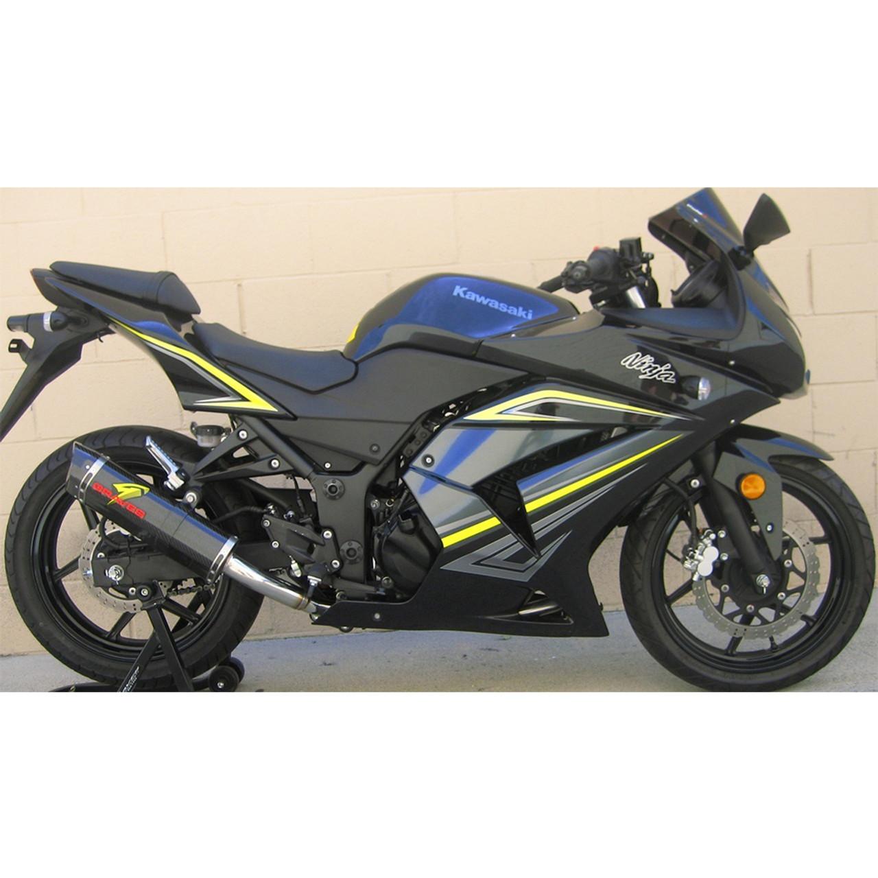 Graves Motorsports Kawasaki Ninja 250r 10 12 Full Exhaust System