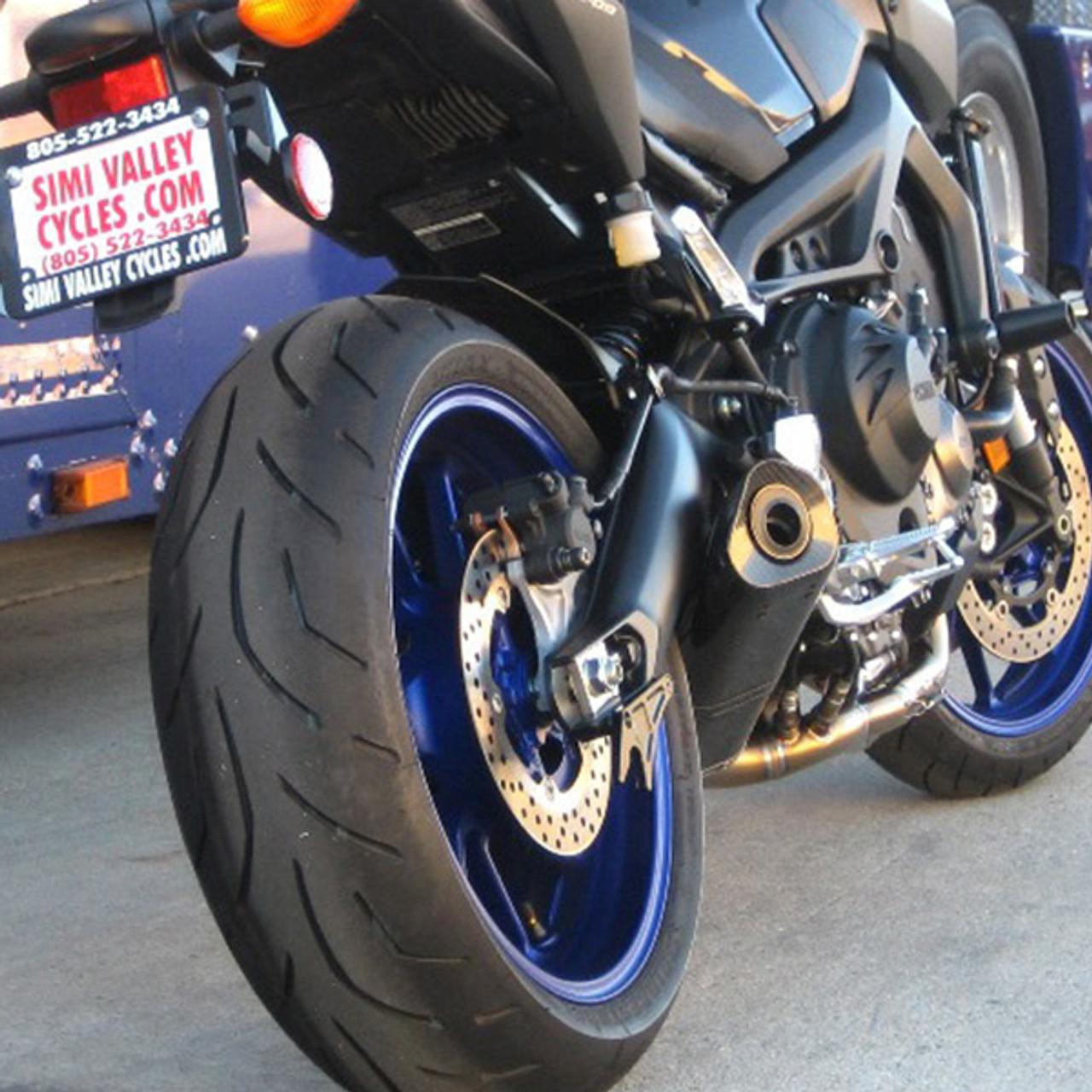 Graves Motorsports Yamaha Fz 09 Mt 09 14 19 Frame Sliders