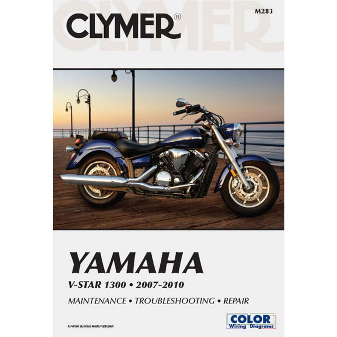 clymer yamaha v star 1300 07 10 service manual yamaha qt50 wiring-diagram yamaha 1300 wiring diagram #6