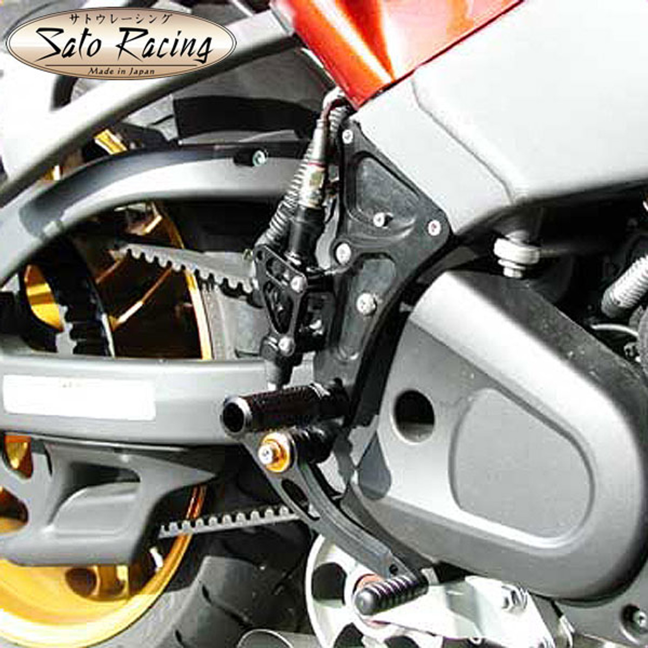 Sato Racing Rear Sets Buell XB12R/S