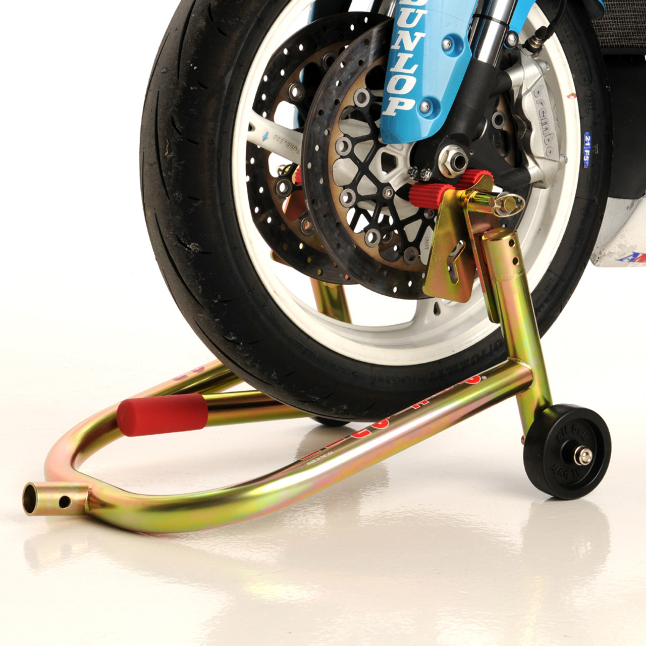 Motorcycle Front Paddock Stand Gold