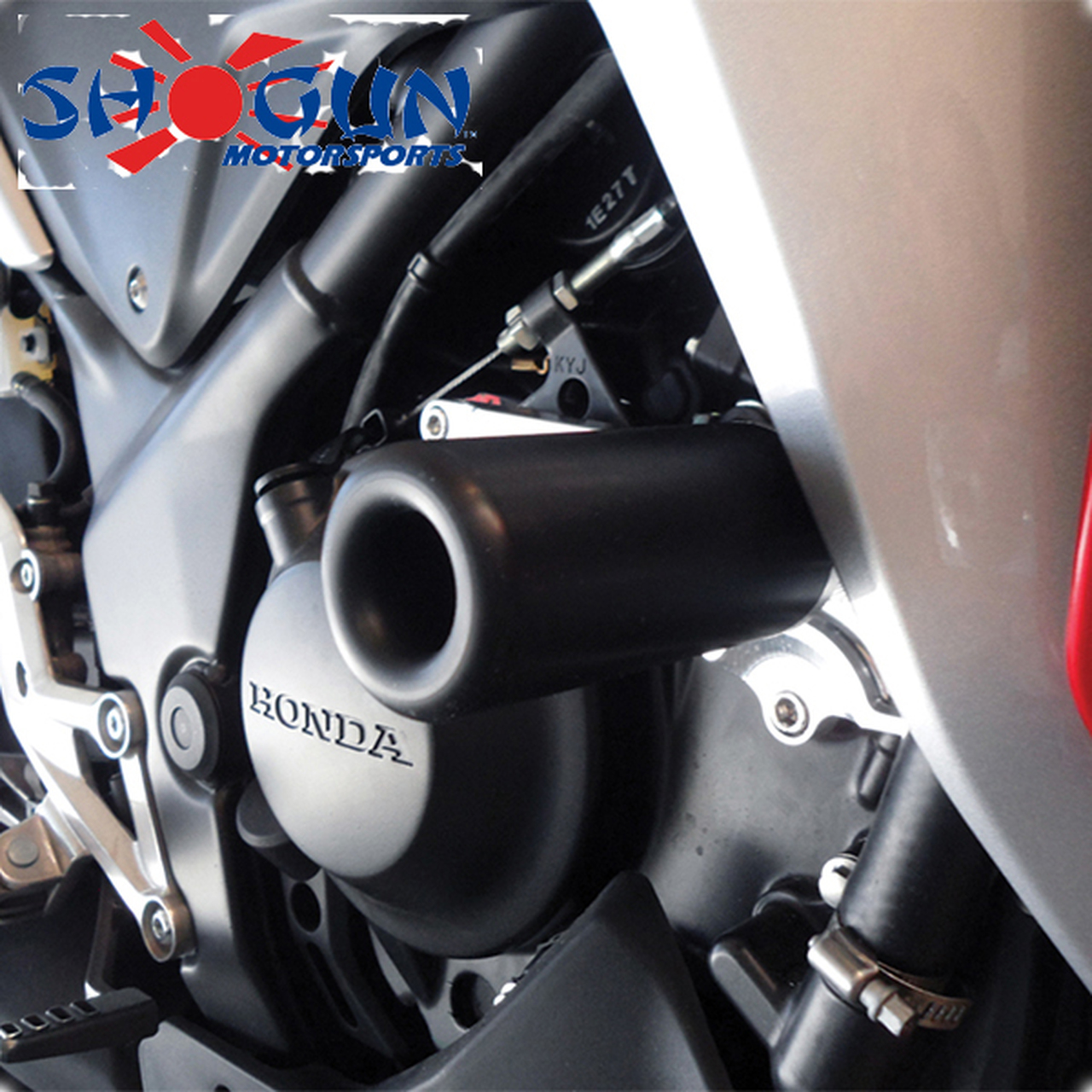 Shogun Honda CBR250R 11-14 No Fairing Mod Frame Sliders