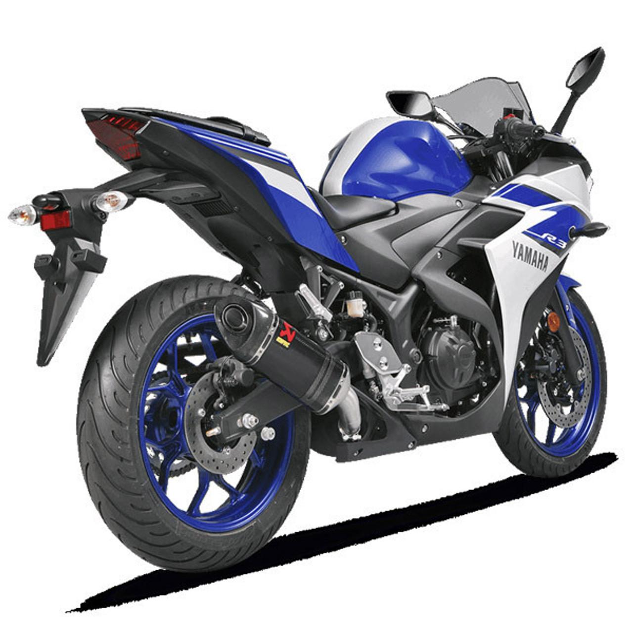 Akrapovic Yamaha R3 2015-2019 Carbon Slip On Exhaust