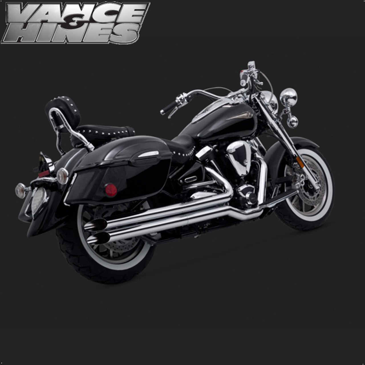Vance & Hines Longshot Full Exhaust System Yamaha XV1600 Road Star 99-07