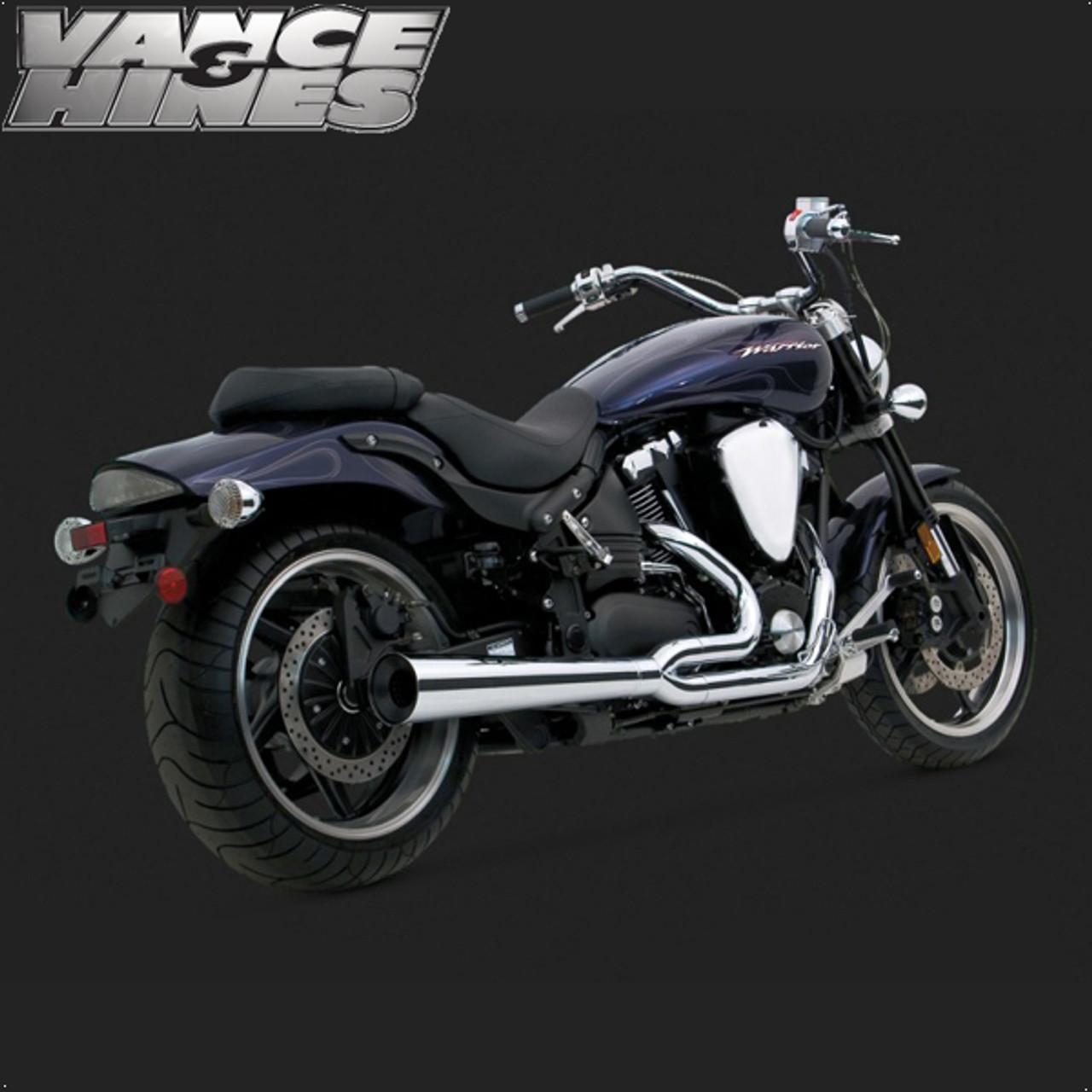 Vance Hines Pro Pipe Full Exaust System Yamaha Xv1700 Road Star Warrior 02 09