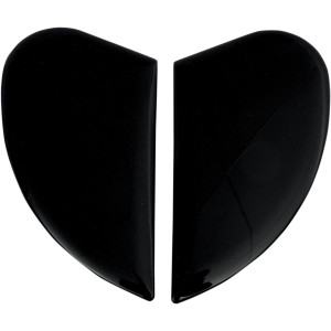 Black ICON Replacement Sideplates for Airmada Helmet