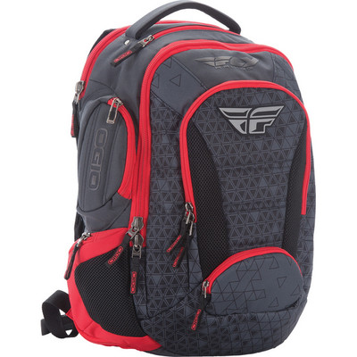 Fly Racing Ogio Bandit Bag Red Black Sportbike Track Gear