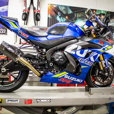 2017-2019 Suzuki GSXR 1000 GB Racing Engine Cover Set