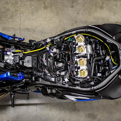 Spiegler Suzuki GSX-R1000 17-19 Front & Rear Brake Line Kit (ABS KIT  similar orig  routing)