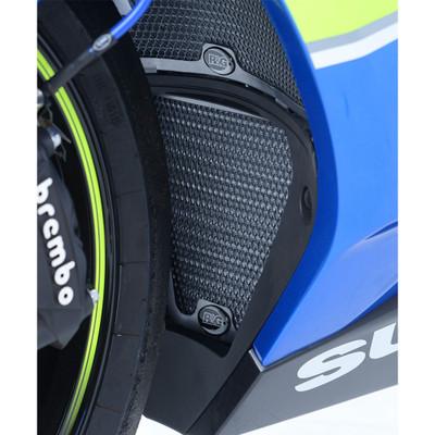 R/&G Racing Aluminium Radiator /& Oil Cooler Guard Set for Suzuki GSXR 1000 05-06