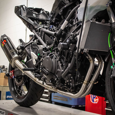 Akrapovic Kawasaki Ninja 400 2018-2019 Stainless Steel Optional Header