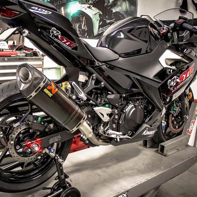 Akrapovic Kawasaki Ninja 400 2018 2019 Carbon Slip On Exhaust