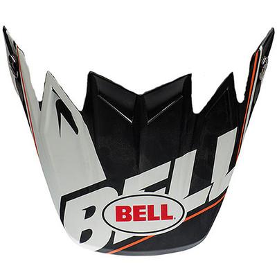 Bell Moto-9 Flex Visor Blocked Black