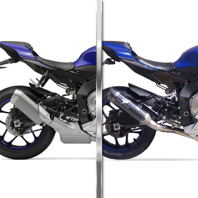 2015 2019 Yamaha R1 Graves Motorsports Titanium Cat Eliminator