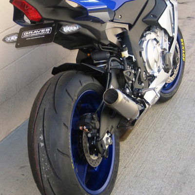 2015 2019 Yamaha R1 Graves Motorsports Moto1 Cat Back Slip On