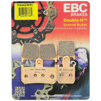 EBC Yamaha YZF-R1 15-18 Double-H Sintered Metal Front Brake Pads
