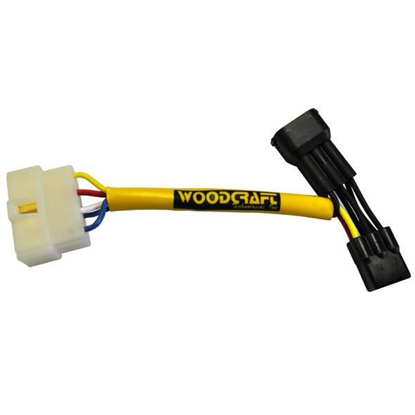 Woodcraft Kawasaki ZX-10R 04-10 Keyswitch Elimination Harness