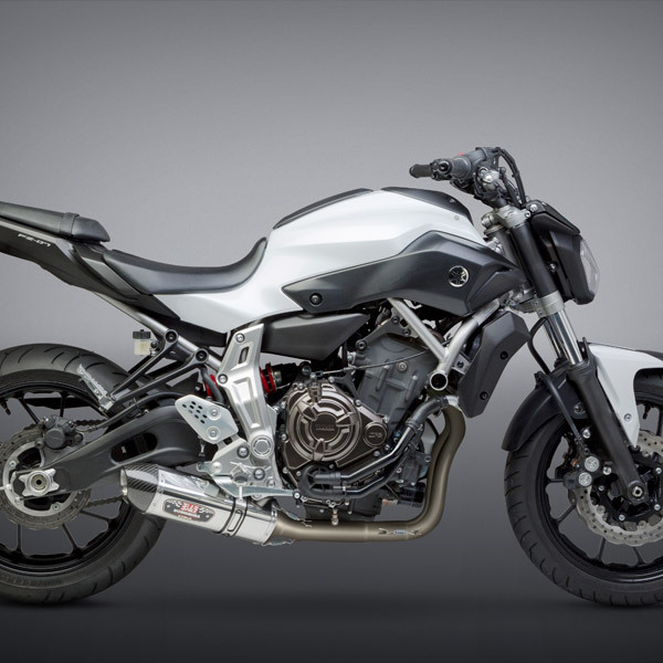 2017 Kawasaki Z125 Pro >> Yoshimura Yamaha FZ-07 / MT-07 2015-2019 Race R-77 Works Finish Full Exhaust System