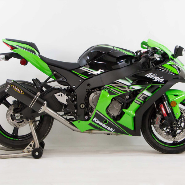 Hindle Evolution Full Exhaust System Kawasaki ZX-10R 16-19