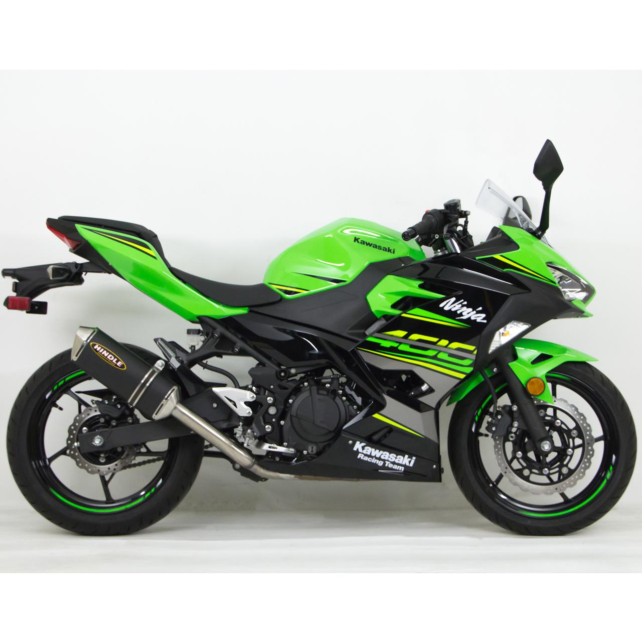 Hindle Kawasaki Ninja 400 18-19 EVO Full Exhaust System