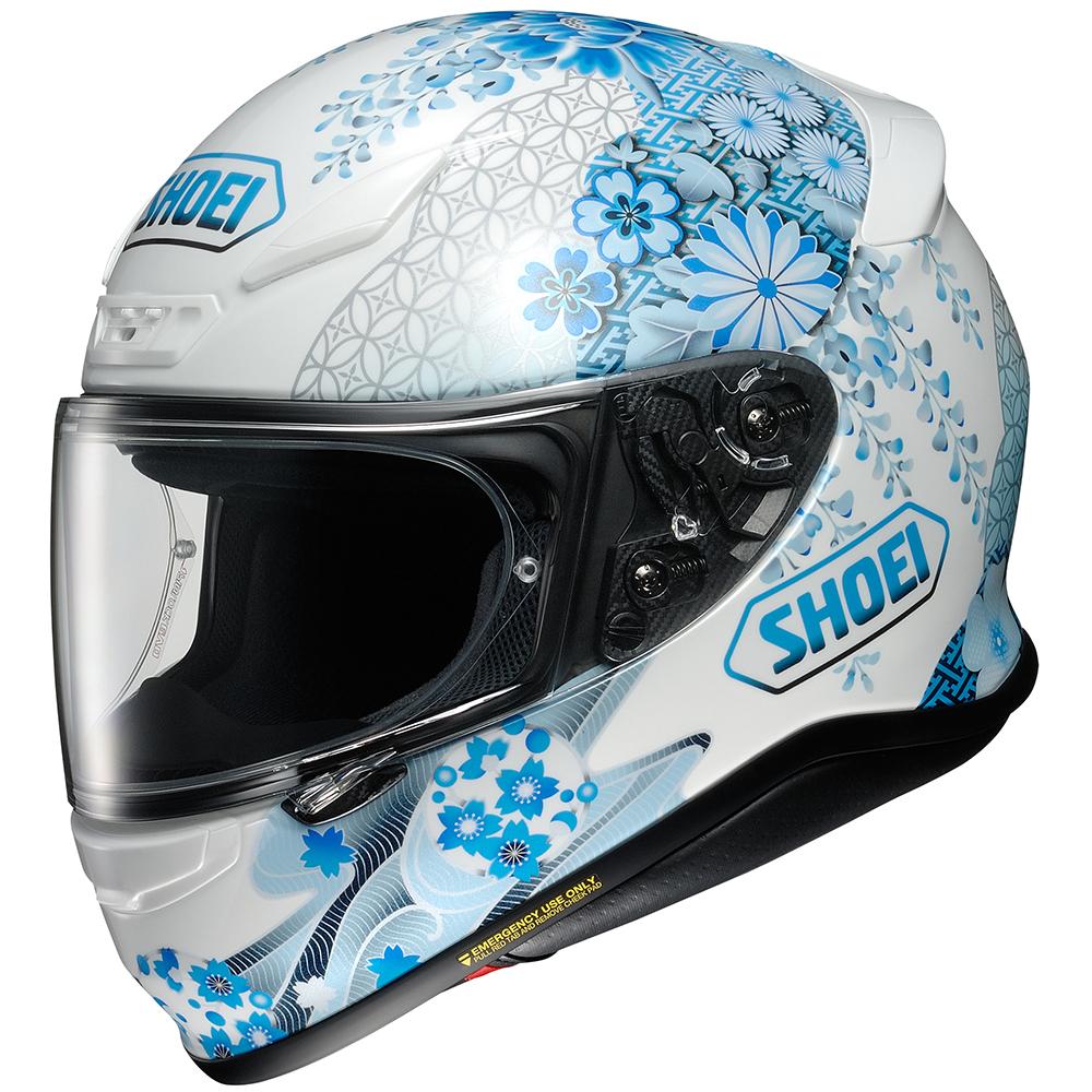 98459a3e Shoei RF-1200 Harmonic Helmet - Sportbike Track Gear