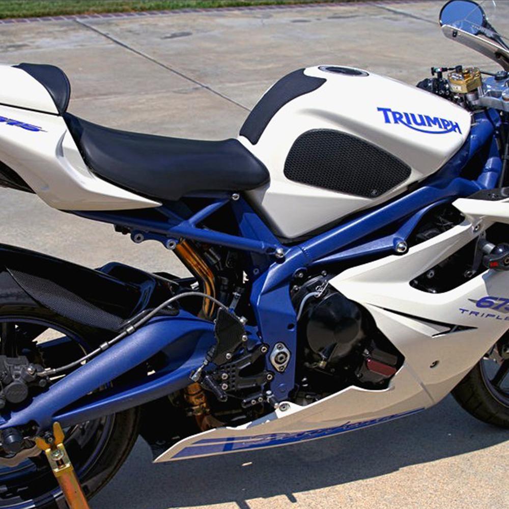 Techspec Triumph Street Triple 2009 2012 Dave Moss Tank Grip