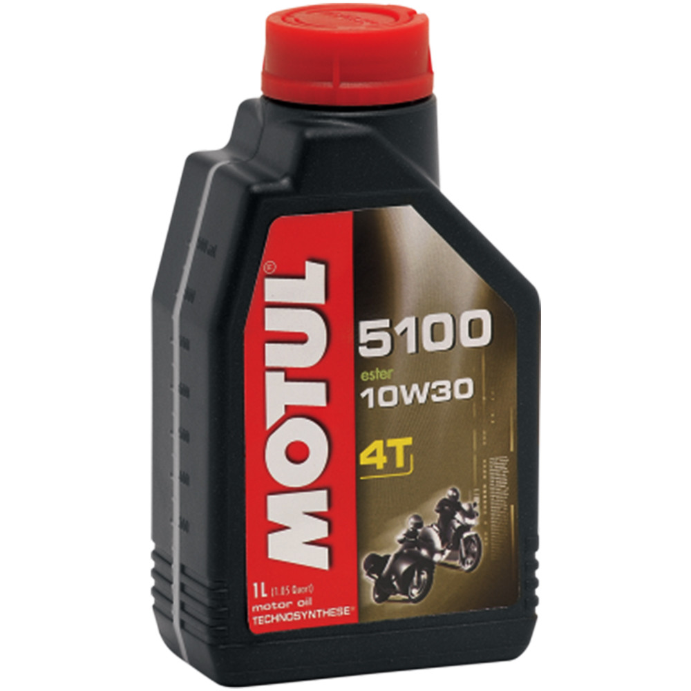 Motul 5100 10W30 Synthetic Blend Motorcycle Oil 1 Liter