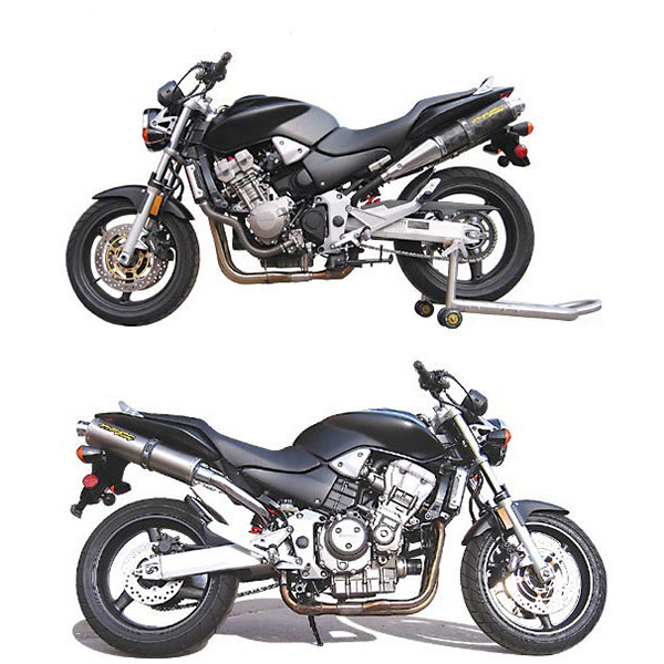 Two Brothers Honda 919 02 07 C 4 Slip On Exhaust Sportbike Track Gear
