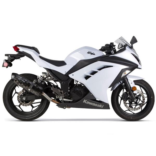 Two Brothers Kawasaki Ninja 300 13 17 M 2 Black Series Slip On