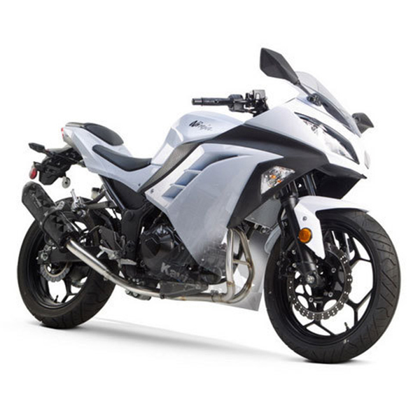 Two Brothers Kawasaki Ninja 300 13 17 M 2 Silver Series Full Exhaust