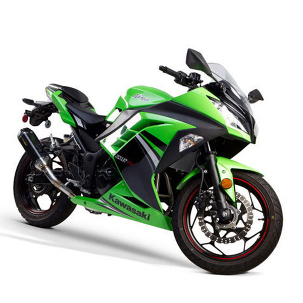 Two Brothers Kawasaki Ninja 300 13 17 Tarmac Full Exhaust System