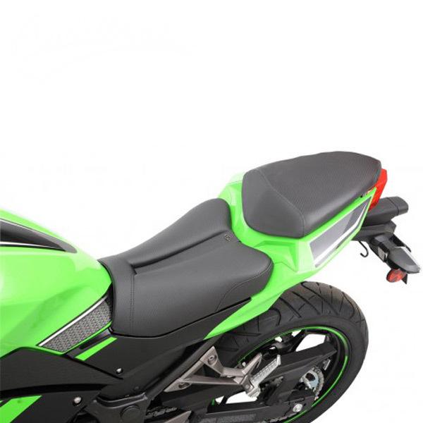 Saddlemen Kawasaki Ninja 300 13 17 Track Cf Style Gel Channel Seat