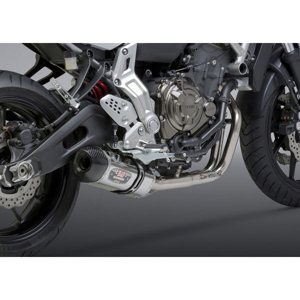 Yoshimura Yamaha FZ-07 / MT-07 15-19 Race R-77 Stainless Full Exhaust  System SS-SS-CF